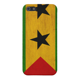 Sao Tome and Principe Flag iPhone SE/5/5s Case