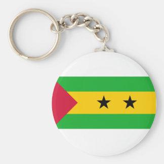 Sao Tome And Principe Flag Keychain