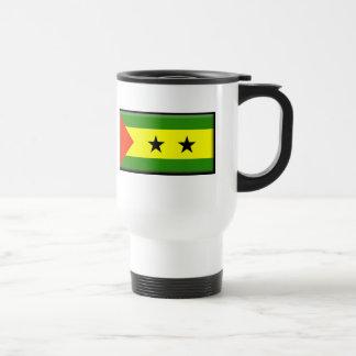 Sao Tome and Principe Flag Coffee Mugs