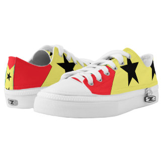 Sao Tome and Principe Flag -.png Low-Top Sneakers