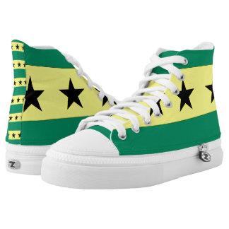 Sao Tome and Principe High-Top Sneakers