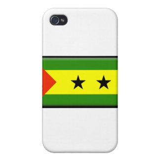 Sao Tome and Principe  Cases For iPhone 4
