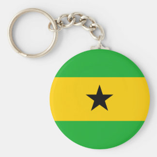 Sao Tome and Principe Keychain
