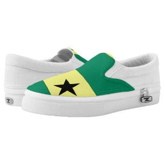 Sao Tome and Principe Slip-On Sneakers