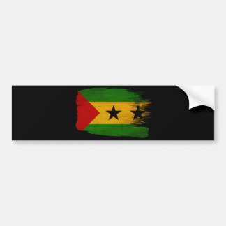Sao Tome And Principetex3-paint styletex3-paint Bumper Sticker
