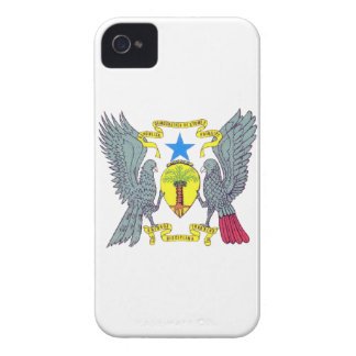 Sao Tome Principe Coat of Arms iPhone 4 Cases
