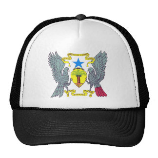Sao Tome Principe Coat of Arms Trucker Hat