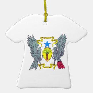 Sao Tome Principe Coat of Arms Ornament