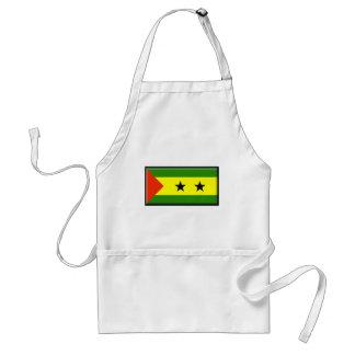 Sao Tome Principe Flag Apron