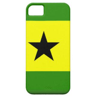 Sao Tome Principe Flag iPhone 5 Covers
