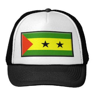 Sao Tome Principe Flag Mesh Hats
