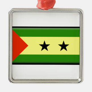 Sao Tome Principe Flag Ornament