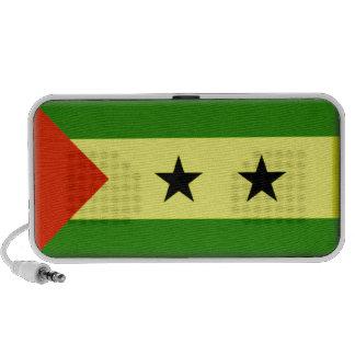 Sao Tome Principe Flag Portable Speakers