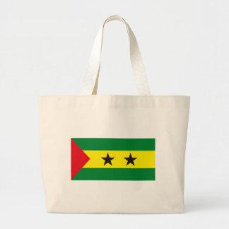 Sao Tome Principe Flag Tote Bag