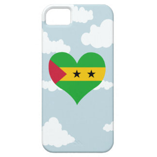 Sao Tomean Flag on a cloudy background iPhone 5 Cover