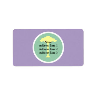 Saocarlos Saopaulo Brasil, Brazil Custom Address Label