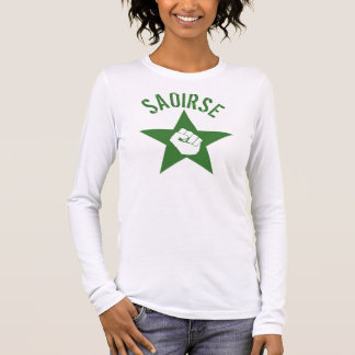 Saoirse Iirsh Republican Army Logo Long Sleeve T-Shirt
