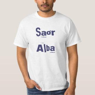 Saor Alba Free Scotland Scots Gaelic T-shirt