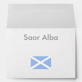 Saor Alba Gaelic Free Scotland Envelope