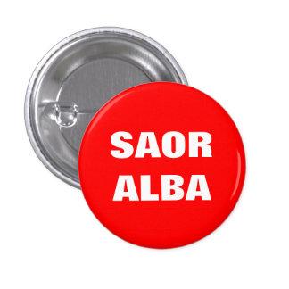 Saor Alba Gaelic Free Scotland Pinback Button