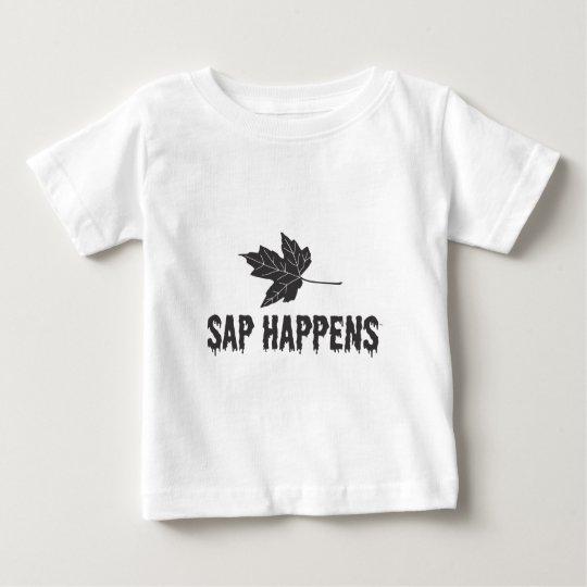 Sap Happens Baby T-Shirt