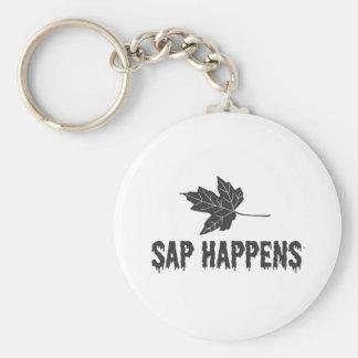 Sap Happens Keychain