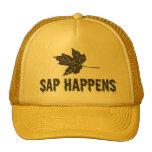 Sap Happens Trucker Hats