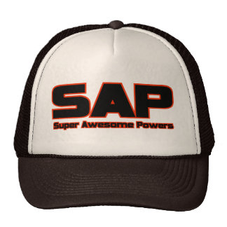 SAP - Super Awesome Powers Trucker Hat