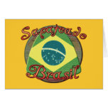 Sapateado Brasiliero Greeting Cards