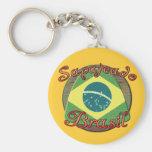 Sapateado Brasiliero Keychain
