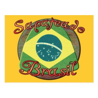 Sapateado Brasiliero Postcard