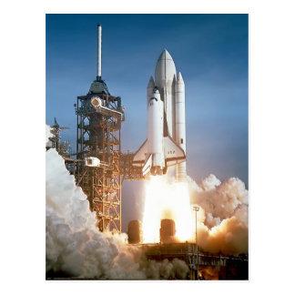 Sapce Shuttle Launch Postcards