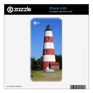 Sapelo Lighthouse iPhone 4 Decal