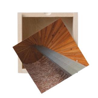 Sapelo Staircase Wooden Keepsake Box