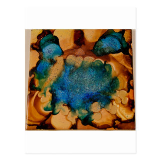 Saphire Geode collection Postcard