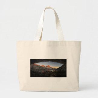 Saphire Lake Sunset - Evolution Basin - John Muir Large Tote Bag