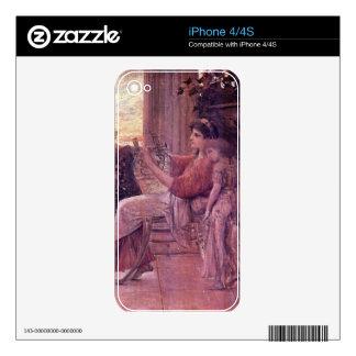 Sapho by Gustav Klimt iPhone 4 Decal