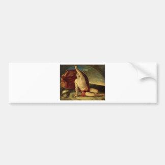 Sapiente con compasso e globo by Dosso Dossi Bumper Sticker