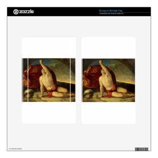 Sapiente con compasso e globo by Dosso Dossi Decals For Kindle Fire