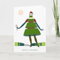 Sapin de Versailles Christmas Card