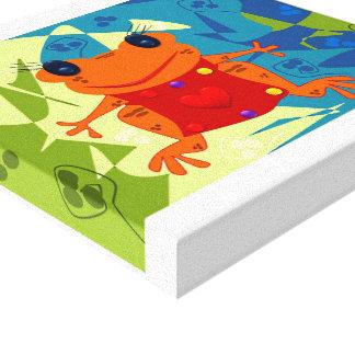 sapinha hugs canvas print