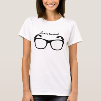 Sapiosexual with glasses T-Shirt