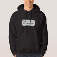 'Sapiosexuals want to do it with your mind' men's hoodie LIGHT