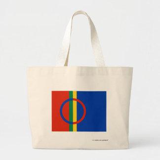 Sapmi Flag Canvas Bags
