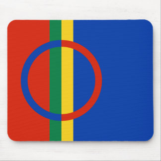Sapmi Flag Mouse Pad