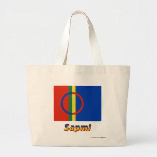 Sapmi Flag with Name Tote Bag