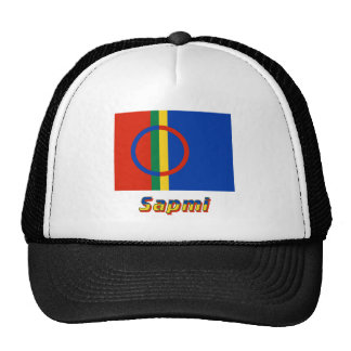Sapmi Flag with Name Trucker Hat