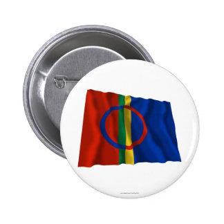 Sapmi Waving Flag Pin