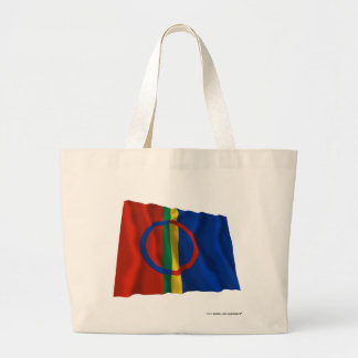 Sapmi Waving Flag Tote Bag