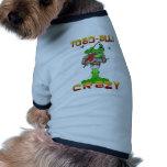 Sapo-aliado loco ropa de perro